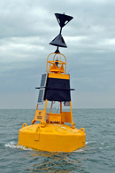 West Cardinal Buoy Water In Hand